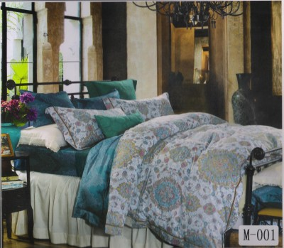 Welhouse India Cotton Abstract King sized Double Bedsheet