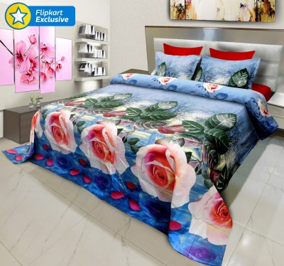 Signature Polycotton Abstract King sized Double Bedsheet