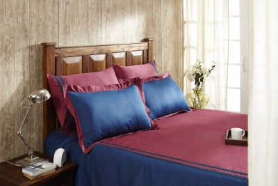 Fisher West NY Cotton Printed King sized Double Bedsheet