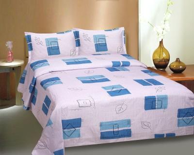Ctm Textile Mills Cotton Floral Queen sized Double Bedsheet