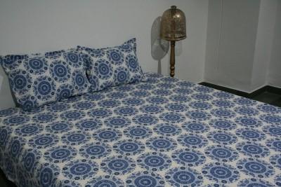 RaghurajLifestyle Cotton Motifs Double Bedsheet