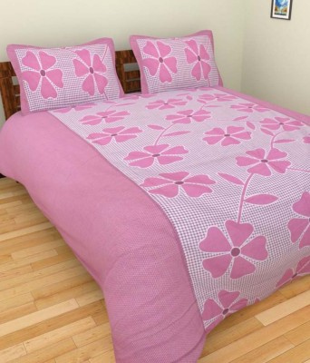 Vk Cotton Abstract Double Bedsheet