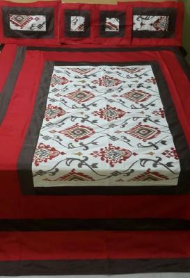 Diti Impex Velvet, Silk Floral Double Bedsheet