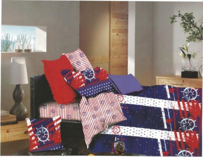 Mystic Polycotton Printed Double Bedsheet