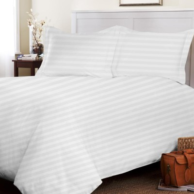 SE Sacro Cotton Striped Double Bedsheet