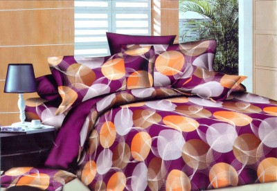 Butterfly Cotton Checkered Double Bedsheet
