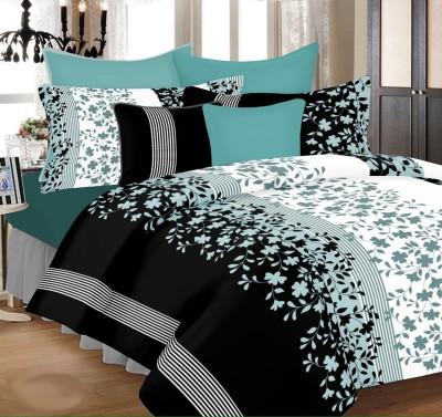 PrintStar Cotton Floral Double Bedsheet