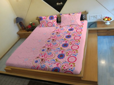 HEMLINES Polycotton Abstract Double Bedsheet