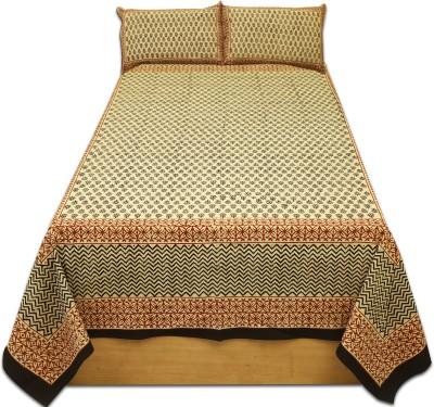 Sleepwell Cotton Text Print Single Bedsheet