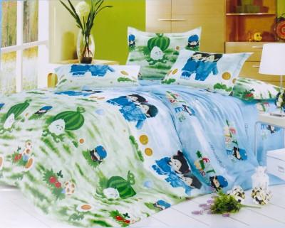 Kotton Cotton Cartoon Single Bedsheet