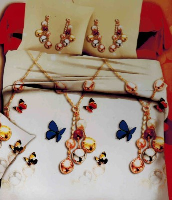 Stylla Polycotton Printed Double Bedsheet