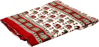 Valintinotextile Cotton Floral Double Bedsheet