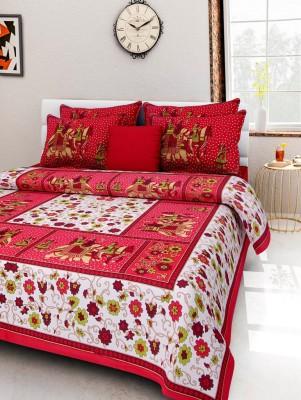 naiwal bedding fashion Cotton Printed Double Bedsheet