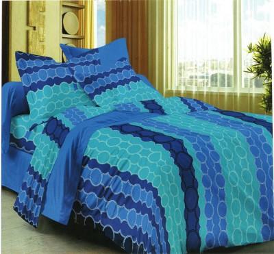Satcap Cotton Floral Single Bedsheet