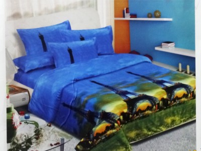 Lee Home Decor Cotton Printed Double Bedsheet