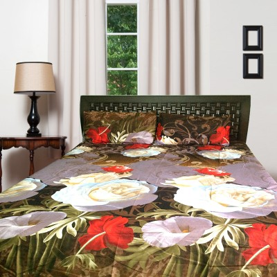 Finc Polycotton Abstract Queen sized Double Bedsheet