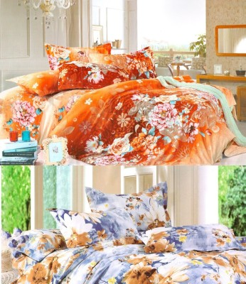 Nite N Day Polycotton Floral Double Bedsheet