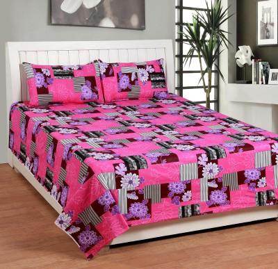 BSB Trendz Cotton Printed Double Bedsheet