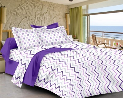 Urbano Homz Satin Striped Double Bedsheet