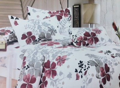 Tima Polyester Floral Double Bedsheet