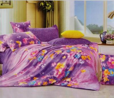 Fusion Cotton Floral Double Bedsheet