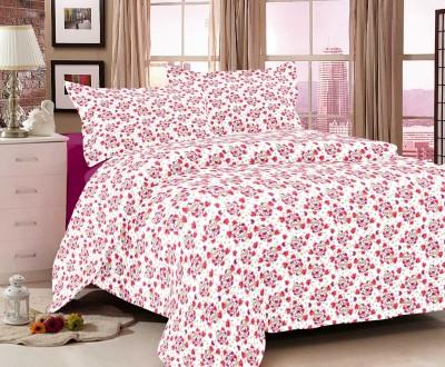 Ayushi Craft & Fashions Cotton Printed Double Bedsheet