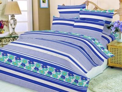 JCT Homes Cotton Floral Double Bedsheet