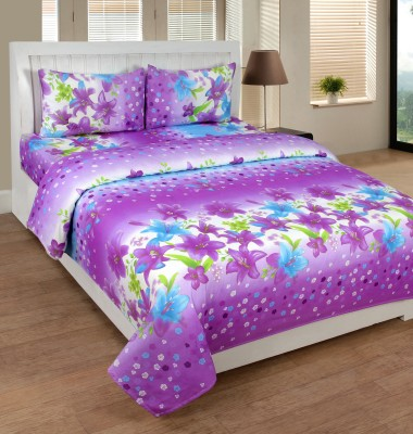 Supreme Home Collective Cotton Floral Double Bedsheet