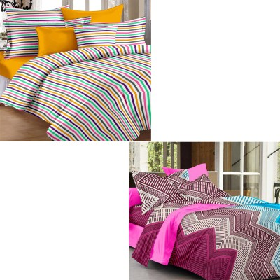 Story @ Home Cotton Printed Double Bedsheet