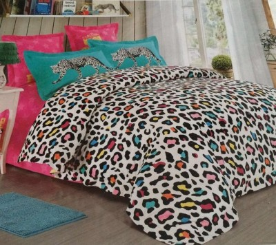 idesign Cotton Printed Double Bedsheet