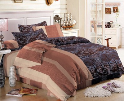 Glory Creations Polycotton Abstract Queen sized Double Bedsheet