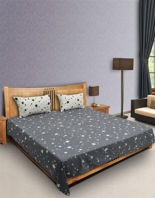 Decor Studio Cotton Printed Double Bedsheet