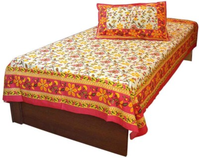 Great Art Cotton Printed Single Bedsheet