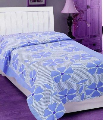 Elegance Cotton Floral Single Bedsheet