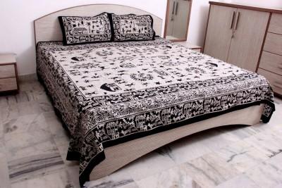 Bhav Sagar Tex Cotton Printed Double Bedsheet