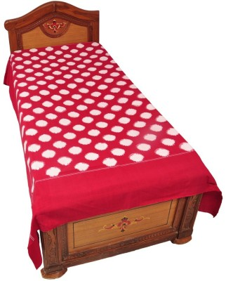 Pochampally Cotton Geometric Single Bedsheet