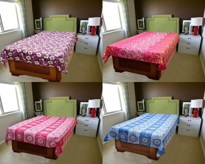 BSB Trendz Polyester Abstract Single Bedsheet