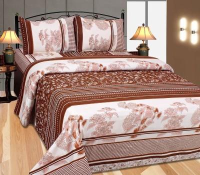Singhs Villas Decor Cotton Printed Double Bedsheet