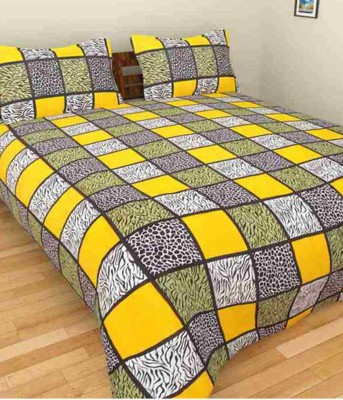 RS Quality Cotton Printed Double Bedsheet