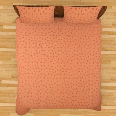 Thuhil Cotton Printed Double Bedsheet