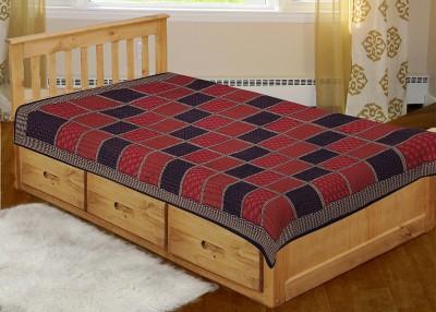 Renown Cotton Checkered Single Bedsheet