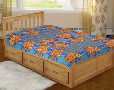 Arihant Online Cotton Floral Single Bedsheet