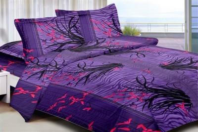 Aalidhra Techtex Cotton Printed Queen sized Double Bedsheet