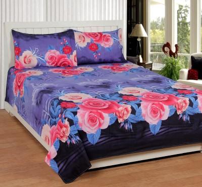 Shivalik Polycotton Floral Double Bedsheet