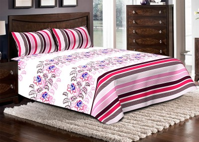 Bella Casa Cotton Printed Double Bedsheet