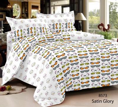 Home Castle Cotton Printed Double Bedsheet