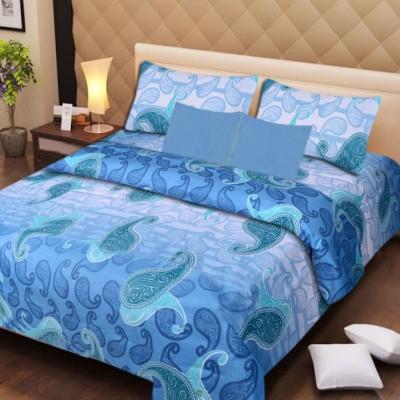Presto Cotton Abstract Double Bedsheet