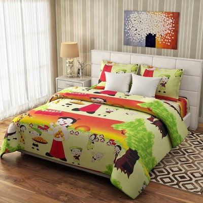 Reliable Trends Cotton Cartoon Single Bedsheet