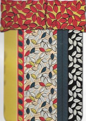 Kal Cotton Self Design Double Bedsheet