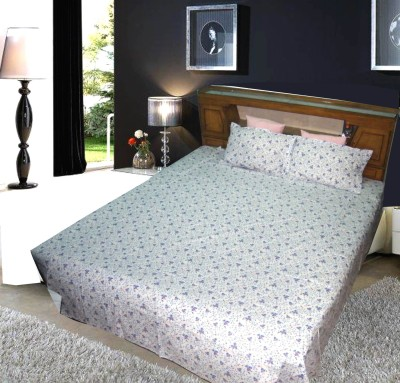 MARTINA PRINT Cotton Floral Double Bedsheet